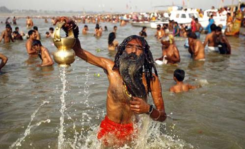 IEFF UP Tour:Dip in Ganga