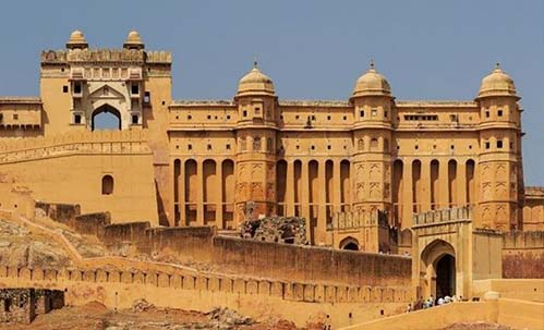 ieff jaipur tour:Amber fort